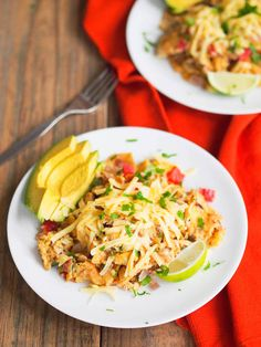 Classic migas, a Tex-Mex dish of eggs cooked with tortillas and vegetables, is my favorite 15 minute meal! Vegetarian and gluten free.