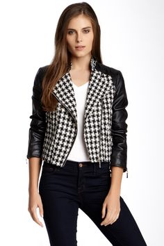 Houndstooth Jacket by Love & Love on @nordstrom_rack