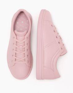 finest selection 20046 d1b44 Tendencia Rosa Mujer   Bershka España Zapatillas Sneakers, Zapatillas Mujer,  Calzado Niños, Calzado