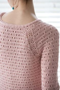 Blueprint Crochet Sweaters: Crocheted Pullover