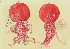 halloweenesque octopus by peacay, via Flickr