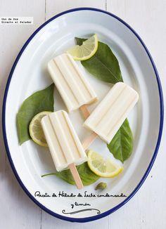 Recetas de ricos helados para combatir el calor: de kiwi, yogur o leche condensada y limón. ¡Y en menos de 10 minutos!