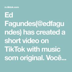 Ed Fagundes( has created a short video on TikTok with music som original. Frozen Humor, Texts, The Originals, Music, Daughter, Muziek, Texting, Musik, Text Messages