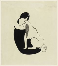 "christina malman ""woman and a dog"" - 1935"