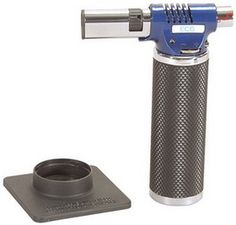I need to upgrade my dinky starter kitchen torch, I am ready for a big girl version! I'm still waiting on my pro cook cousin to tell me exactly which one I should get for creme brulee.