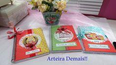 Caderno Decorados de Receitas Arteira Demais!! | por ARTEIRA DEMAIS
