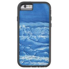 Corn flower blue abstract watercolor painting tough xtreme iPhone 6 case - watercolor gifts style unique ideas diy