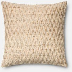 Loloi Beige Pillow 22 X 22 By ($109) ❤ liked on Polyvore featuring home, home decor, throw pillows, ivory throw pillows, faux fur throw pillow, off white throw pillows, beige throw pillows and cream throw pillows