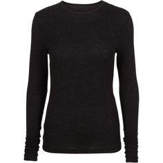 Guatemala ls wool top #pretty #wool #top #black #curves #basic #soft