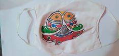 Madhubani Paintings Mask