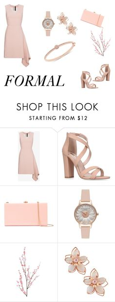 """My style"" by croenva on Polyvore featuring Roland Mouret, Miss KG, Rocio, Olivia Burton, Pier 1 Imports, NAKAMOL and Givenchy"