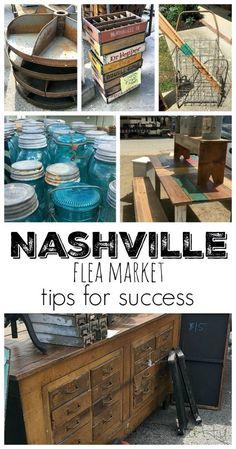 Flea Market shopping at the Nashville Flea Market with tips for success