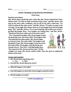 Reading Comprehension Worksheets Third Grade 3 Childrens Stories Will the Wolf . 4 Worksheet Reading Comprehension Worksheets Third Grade 3 Childrens Stories Will the Wolf . 3rd Grade Reading Comprehension Worksheets, Reading Comprehension Passages, Comprehension Strategies, Third Grade Reading, Second Grade, Reading Skills, Reading Response, Kids Reading, Reading Activities