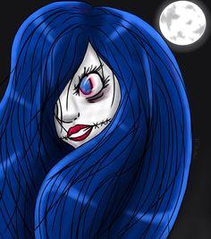Draw Moon girl