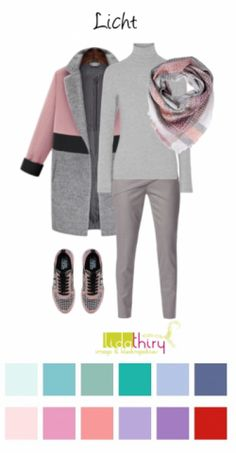 Zo draag je Grijs voor een licht kleurtype-blog-LidaThiry New Look Clothes, Clothes For Women, Mode Outfits, Fashion Outfits, Womens Fashion, Look Fashion, Winter Fashion, Soft Summer Palette, Hijab Style