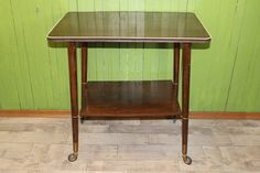 Rockabilly Tisch Mid Century design Servicewagen von Vintage-Zeitreise auf DaWanda.com