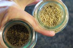 Fladenbrot Rezept: außen kross, innen fluffig | schnell & einfach How To Dry Basil, Herbs, Food, Food Portions, Diy, Bakken, Side Dish, Recipies, Essen