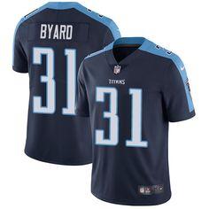 Nike Titans  31 Kevin Byard Navy Blue Alternate Men s Stitched NFL Vapor  Untouchable Limited Jersey 6581c4360