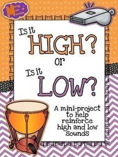 FREE - High vs. Low Sort - Worksheet & Activity - Brittany De Laruelle