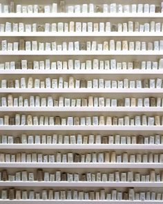 small ceramic cylinders | Edmund de Waal