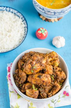 Xtra Spicy Golichina Kodi Koora ~ Xtra Spicy Chicken Curry