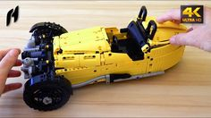 How to Build a Motorized Morgan Three Wheeler(MOC - 4K)