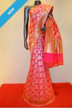 Pure Banarasi Summer Silk Saree