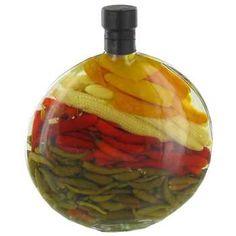 Round Vinegar Bottle