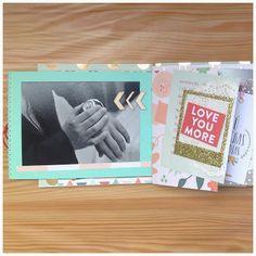 Mini álbum de la mano de Scraperalimonera #scrapbooking #MME #minialbum Scrap, Love You More, Blog, Album, Mini Albums, Scrap Material