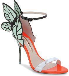 SOPHIA WEBSTER - Chiara butterfly heeled sandals | Selfridges.com