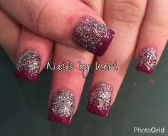Ombré nails. Nails by Keri.