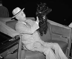 "Franklin D. Roosevelt and <a href=""http://www.buzzfeed.com/briangalindo/fala-the-most-underrated-presidential-dog"">Fala (Scottish Terrier)</a>"