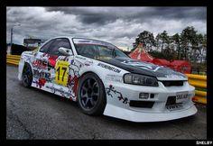nissan skyline r 34 drift by ShelbyPavlik
