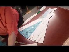 TR Cutting School-Origami Workshop by Shingo Sato-Origami Petal Wedding Dress Sewing Patterns, Dress Patterns, Techniques Couture, Sewing Techniques, Kurti Neck Designs, Blouse Designs, Dress Tutorials, Sewing Tutorials, Diy Vestido