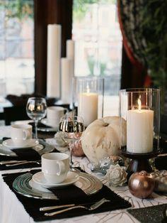 SANITY FAIR: SUPER SIMPLE THANKSGIVING TABLE DECOR