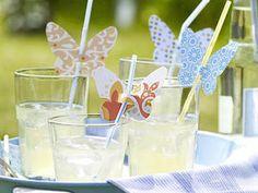 Schmetterling-Deko für Gläser selber machen