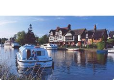 One of my favorite family vacations was renting a canal boat on the Norfolk Broads, UK.