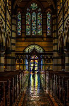 St Paul's Cathedral, Melbourne, is the metropolitical and cathedral church of the Anglican Diocese of Melbourne, Victoria in Australia.