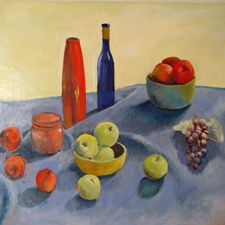 """Leon Sarantos is very pleased to announce that three of his still life paintings are on display in the """"Ordinary Things"""" exhibit at Studio 659 in Whiting, Indiana. The opening reception will be held Friday evening, June 7, from 7:00 to 9:00 PM. In this exhibit, the art reminds us that what is ordinary in one life might not be ordinary in another. Some artists have re-imagined """"ordinary"""" in extraordinary ways. The curator is Dawn Diamantopoulos, who is a graduate... www.leonsarantosartist.com"""