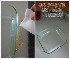 How To Remove Grease And Stains On Glassware