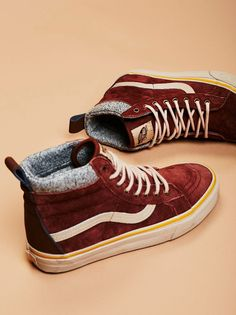 Sk8-Hi MTE DX High Top Sneaker | Cozy weatherized sneaks that feature a warm lining and a high-top silhouette. Scotchgard-treated suede upper with lace-up detailing. Sturdy rubber sole for an ultra-comfy fit.