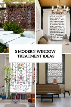 5 Modern Window Treatment Ideas For Privacy And Style