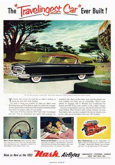 Remarkably Retro - Nash Airflytes, 1953