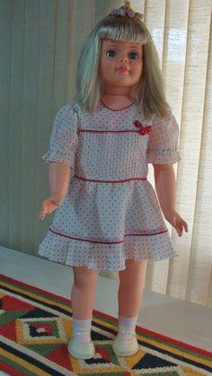 Boneca Antiga Amiguinha Da Estrela 90s - Altura 82cm - R$ 550,00 no MercadoLivre