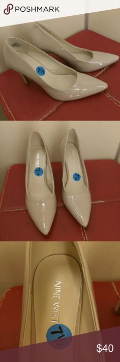 VALENTINE'S DAY SPECIAL - Nine West Heels Nine West Heels size 7.5. Great condition! Barely worn! No scratches and minimal marks. Nine West Shoes Heels