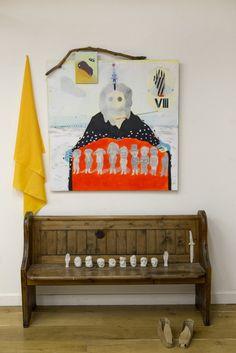 Hacer y recordar/ I — Diego Delas Textile Art, Fiber Art, Objects, Museum, Textiles, Sculpture, Exhibitions, Fabric, Dreams