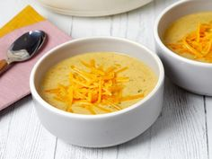 Get The Best Broccoli-Cheddar Soup  Recipe from Food Network