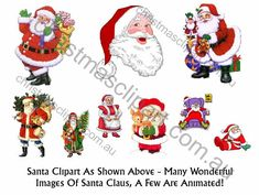santa clipart package. Some other really lovely Christmas images in there.