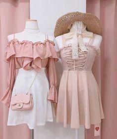 January 12 2020 at fashion-inspo Kpop Fashion Outfits, Fashion Mode, Korean Outfits, Girl Outfits, Fashion Dresses, Fashion Clothes, Summer Outfits, Korean Girl Fashion, Ulzzang Fashion