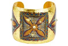 Tigris Flower Cuff on OneKingsLane.com